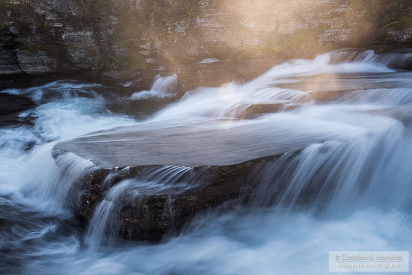 Morgenstimmung an einem Bachlauf im Rondane Nationalpark