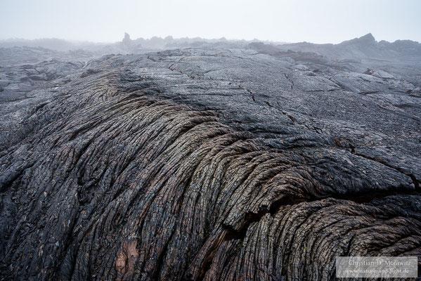 Neue Lavafelder am Fuß des Tolbatschik Vulkans