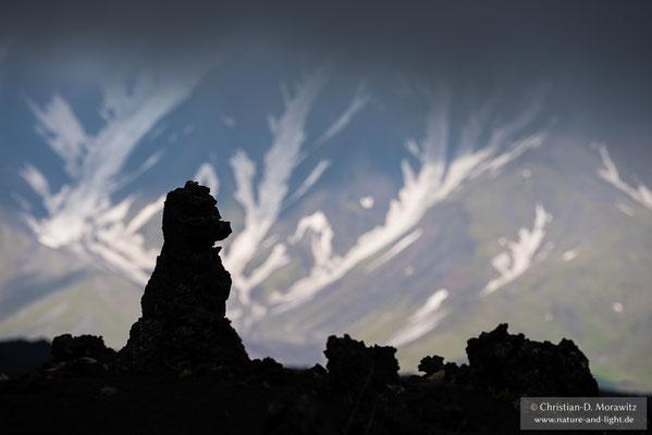 Lavafiguren am Tolbatschik Vulkan
