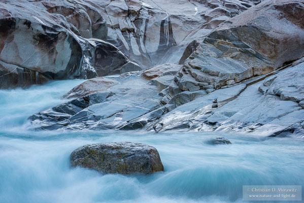 Schmelzwasserfluss vom Nigardsbreen