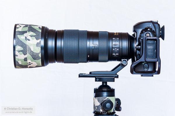 AF-S Nikkor 200-500 mm f/5,6E ED VR bei 200 mm