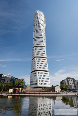 Der Turning Torso ist ein Highlight moderner Architektur in Malmö