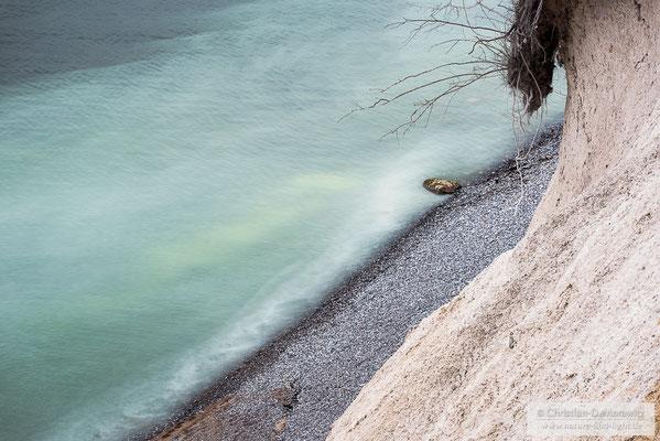 Steilufer an der Kreideküste