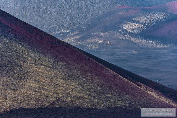 Die Farben- und Formenvielfalt der Aschewüste beiten viele spannende Blickwinkel