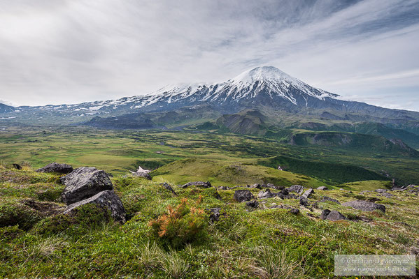 Nordseite des Tolbatschik Vulkans