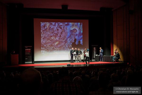 """Im diesjährigen Wettbewerb wurde Cristobal Serrano aus Spanien """"GDT Europäischer Naturfotograf des Jahres"""" mit seinem Bild """"Rainbow City"""""""