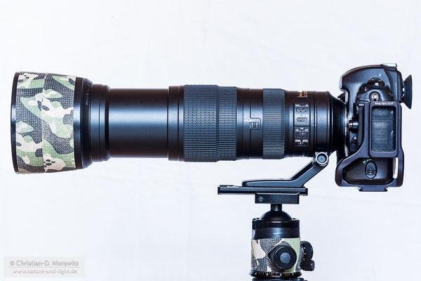 AF-S Nikkor 200-500 mm f/5,6E ED VR bei 500 mm