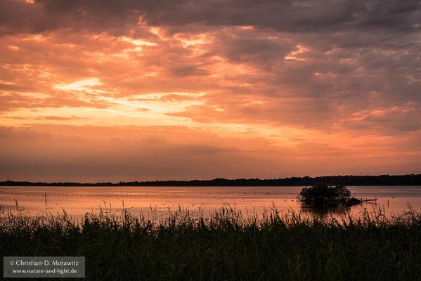 Sonnenuntergang am Krankesjön