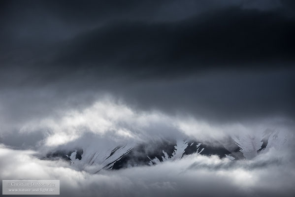 Zwielicht am Kronotsky-Vulkan