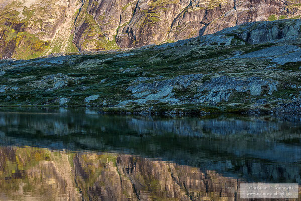 See im Dovrefjell Nationalpark