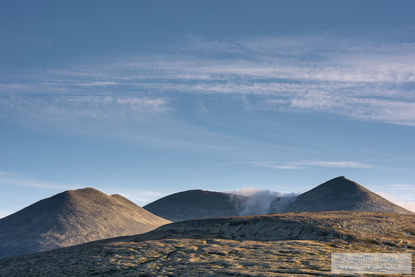 Sonnenaufgang im Rondane Nationalpark