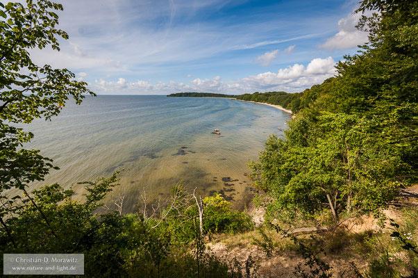 Blick zum Südteil der Insel Vilm