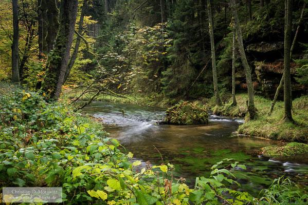 Herbsttag in der Sächsischen Schweiz