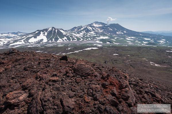 Mutnovsky Vulkan