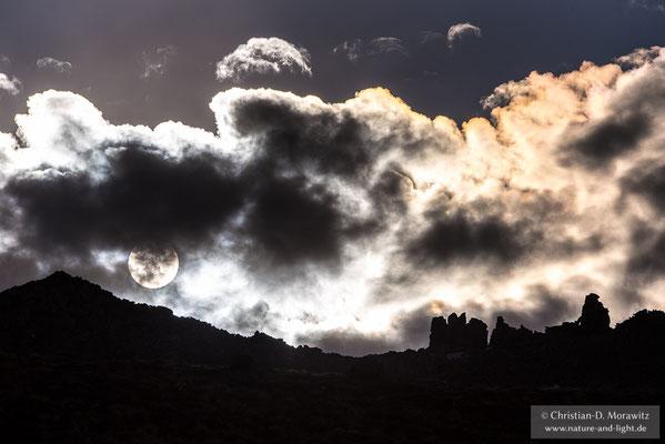 Sonnenuntergang am Kizimen Vulkan