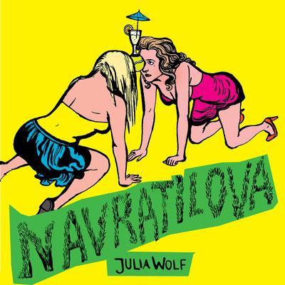 Navratilova, der Literaturquickie zu einem Text von Julia Wolf.