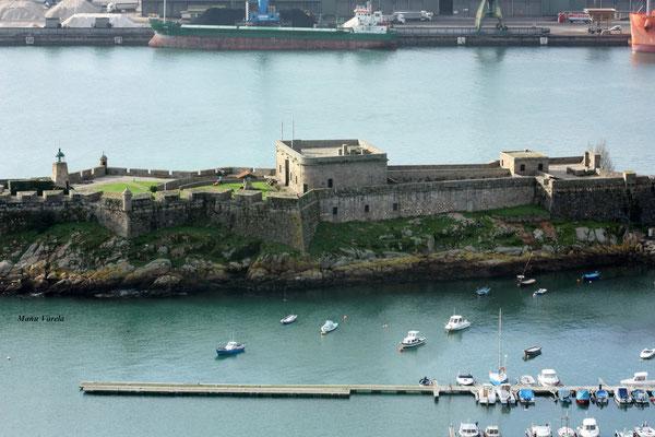 Castillo de San Antón - La Coruña