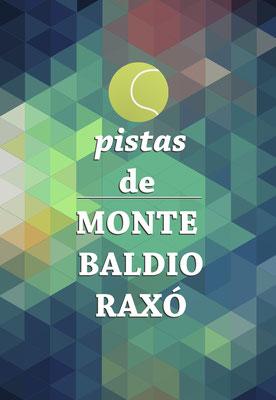 Cartel Promocional Pistas de Monte Baldío para o Concello de Poio