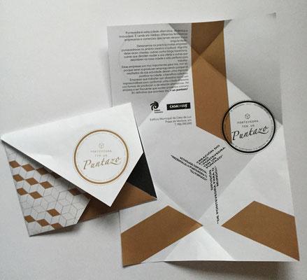 """Folleto presentación do proyecto """"Pontevedra ten un Puntazo"""" do Concello de Pontevedra"""