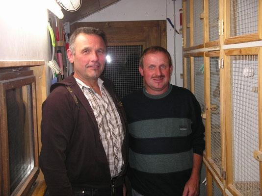 Besuch von einem Guten Zuchtkolegen und Freund Gerhard Pfisterer