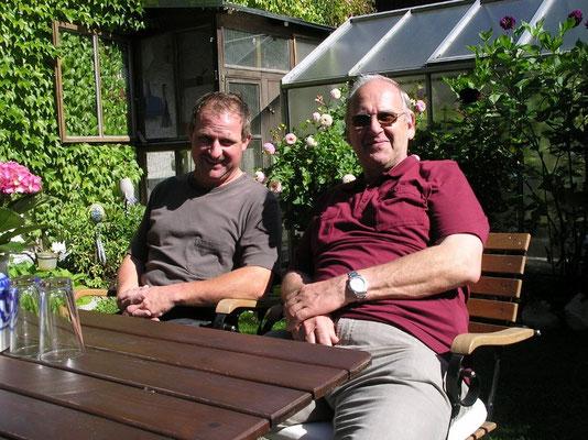 Hoher Besuch aus Froendenberg Gisbert Landsknecht