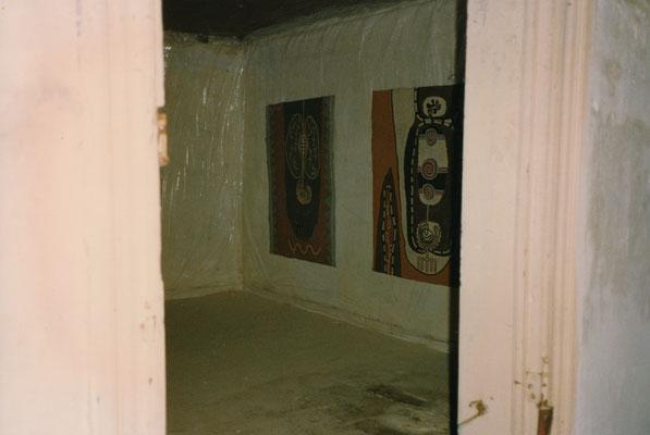 HELFER im Schnitterhaus, Sachesendorf-Werder, 1991