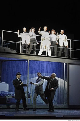 Cologne Voices - Theater Bielefeld  (Angel City Four) (Bild: Martin Wuttke)
