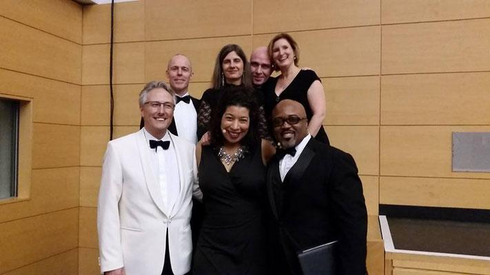 Cologne Voices am Theater Rudolstadt (mit Mary Elizabeth Williams und Kevin Short) (Bild: Oliver Weder)