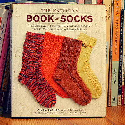 """The knitter's book of socks"" Clara Parkes"