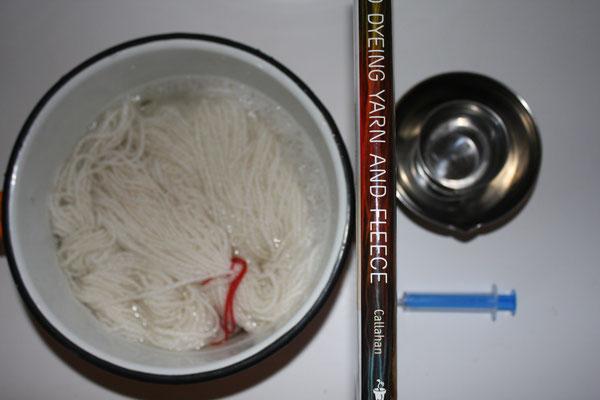 Préparation des fibres.