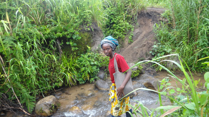 Mission Kongo e.V. - Masoso auf der Reise nach Minembwe - Süd-Kivu