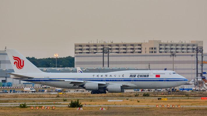 """Nordbahn / """"Affenfelsen"""" - B-2480 Richtung Peking (Boeing 747-89L // Air China)"""