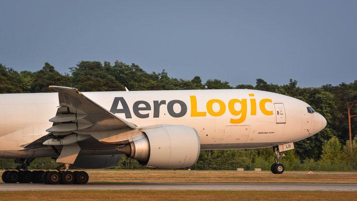 """Startbahn West / """"Affenfelsen"""" - D-AALD gibt Stoff (Boeing 777-FZN // AeroLogic)"""