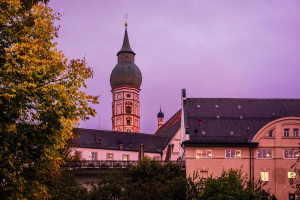 Kloster Andechs am Abend