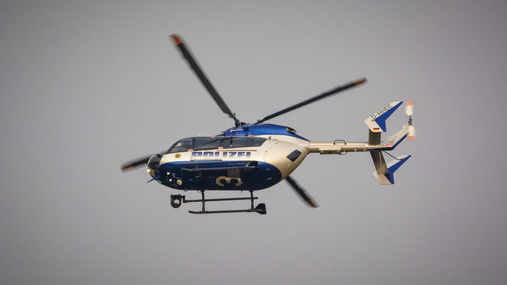 "Startbahn West / ""Affenfelsen"" - D-HHEC (Eurocopter BK117-C2 // Polizei Hessen)"