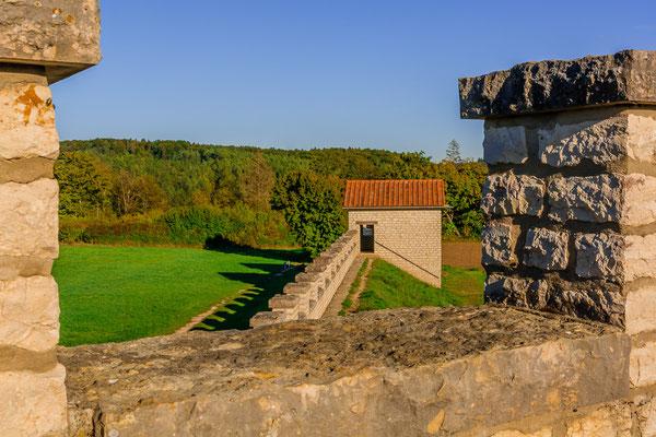 Das Kastell Pfünz, ein ehemaliges römisches Kohortenkastell in Pfünz bei Eichstätt