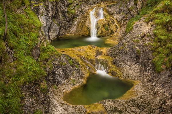 """Wasserfall """"Wendelsteinbach"""" in Bayrischzell"""