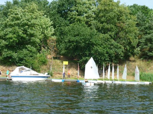 unser Stützpunkt am Niegripper See
