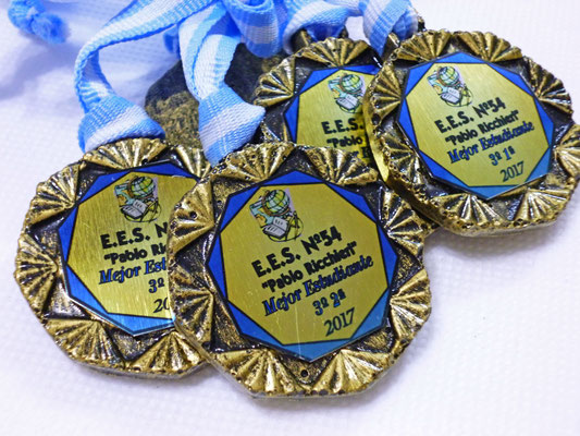 """Medalla """"AZTECA 45mm"""""""