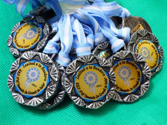 Medalla Polires. - Azteca 45mm