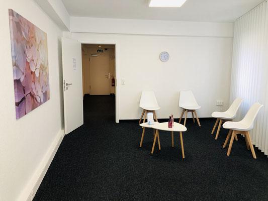 Der Wartebereich - Ergotherapie Jensen (Praxis Iserlohn)