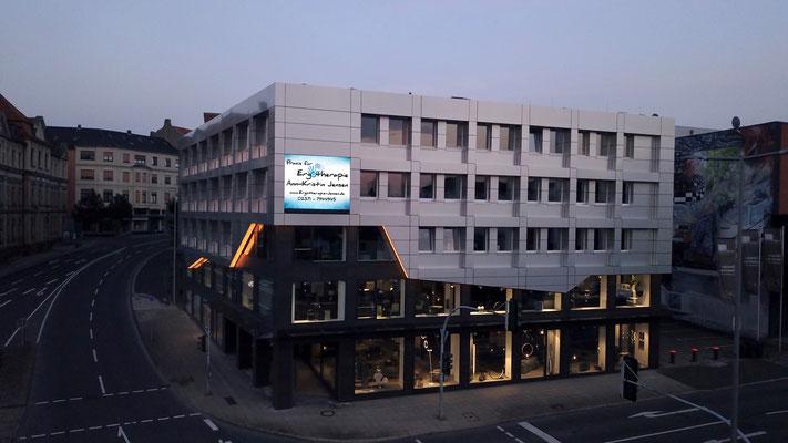 Die Praxis im selben Gebäude wie die DAK - Ergotherapie Jensen (Praxis Iserlohn)