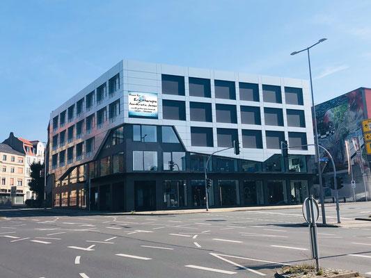 Die Praxis im Gebäude von Raumideen Oberste - Ergotherapie Jensen (Praxis Iserlohn)