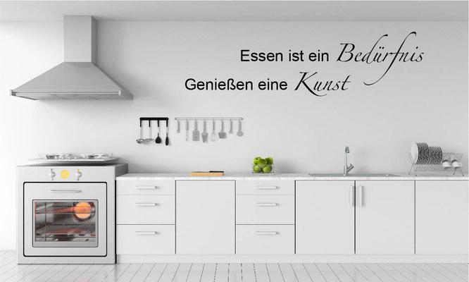 Wandtattoo Küche Zitat