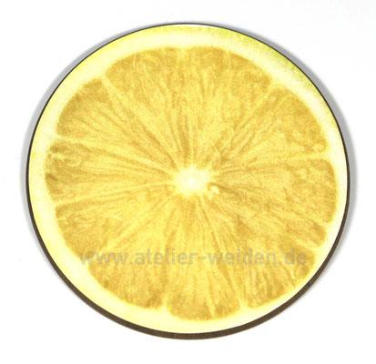 Untersetzer Zitrone