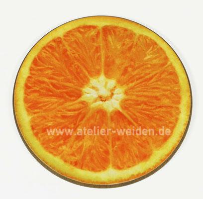 Untersetzer Orange