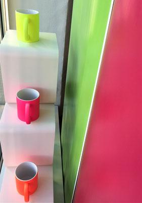 Neon-Tassen