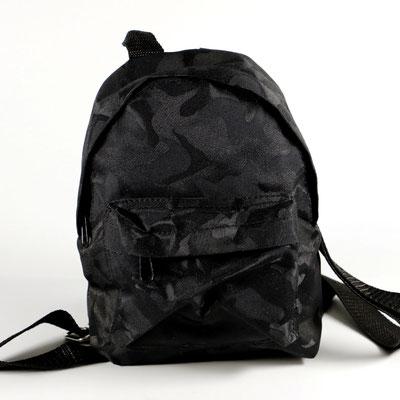 Mini-Rucksack ca. 18 cm Höhe, ideal für Events für Schlüssel oder Portmonee.