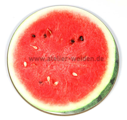 Untersetzer Wassermelone