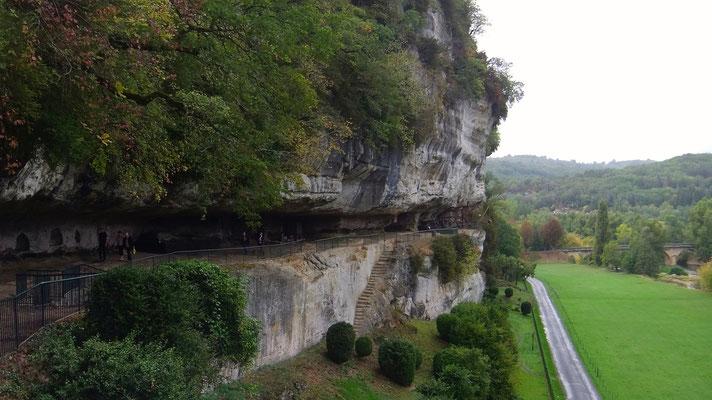 La Roque-Saint-Christophe, un site a visiter absolument